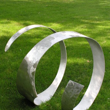 with a twist sculpture